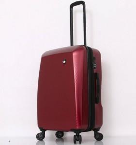 Mia Toro M1713/3-M Torino cestovní kufr TSA 69 cm 66-83 l Red