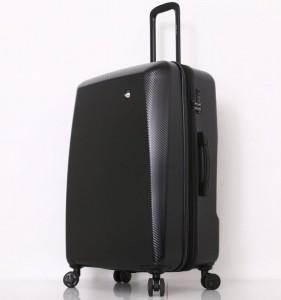 Mia Toro M1713/3-L Torino cestovní kufr TSA 79 cm 101-126 l Black