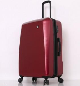Mia Toro M1713/3-L Torino cestovní kufr TSA 79 cm 101-126 l Red