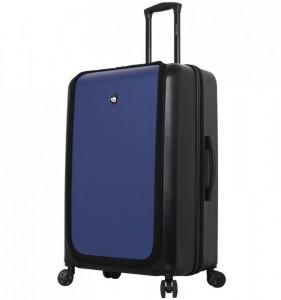 Mia Toro M1709/2-L Carbonio Superior cestovní kufr TSA 78 cm 101-126 l Black/Blue