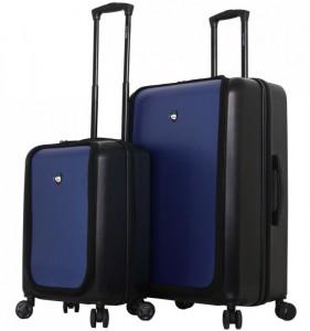 Mia Toro M1709/2 Carbonio Superior sada cestovních kufrů TSA 58/78 cm Black/Blue