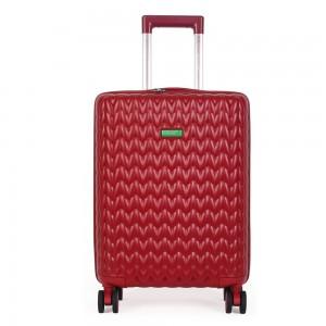 United Colors of Benetton Kabinový cestovní kufr KNIT 35 l – červená