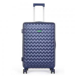 United Colors of Benetton Kabinový cestovní kufr KNIT 35 l – tmavě modrá