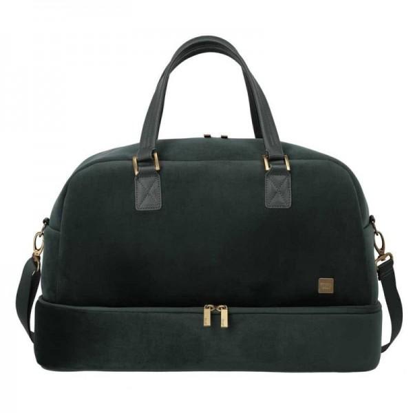 Titan Barbara Velvet Weekender dámská cestovní taška 49 cm 39 l Forest Green