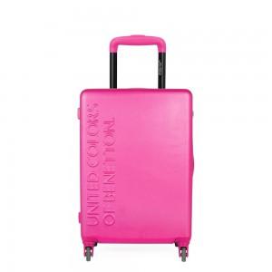 United Colors of Benetton Kabinový cestovní kufr UCB 35 l – růžová