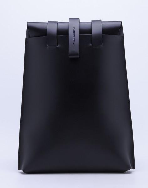 Batoh PBG Leather Backpack Noir Malé (do 20 litrů)