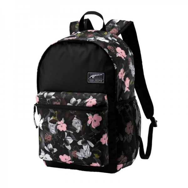 PUMA Academy Backpack Puma Black-Floral Black-Floral