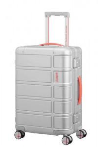 American Tourister Kabinový cestovní kufr Alumo Spinner Neon 34 l – oranžová