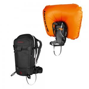 Lavinový batoh Mammut Pro Removable Airbag 3.0 45l Black