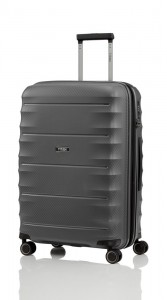 Titan Skořepinový cestovní kufr Highlight 4w M Anthracite 73/79 l
