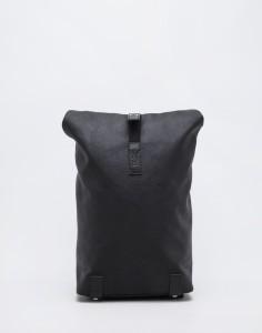 Batoh Brooks England Pickwick Cot.Canvas 12L Total Black Malé (do 20 litrů)
