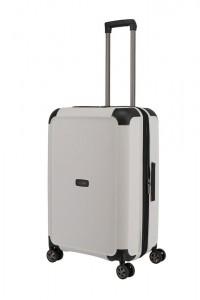 Titan Skořepinový cestovní kufr Compax 4w M White 75/83 l