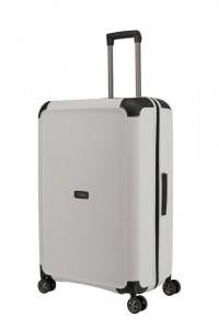 Titan Skořepinový cestovní kufr Compax 4w L White 104 l