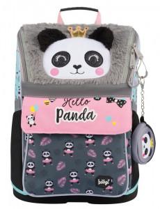 BAAGL Školní aktovka Zippy Panda A-7699 18 l