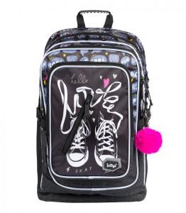 BAAGL Školní batoh Cubic Tenisky A-7757 29 l