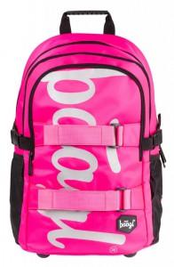 BAAGL Školní batoh Skate Pink 25 l