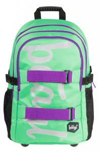 BAAGL Školní batoh Skate Mint 25 l