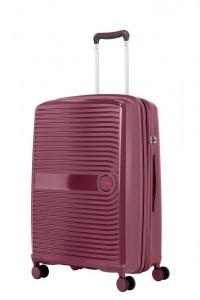 Travelite Skořepinový cestovní kufr Ceris M Blackberry 72/83 l