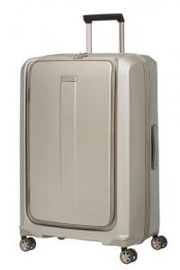 Samsonite Skořepinový cestovní kufr Prodigy Spinner EXP L 100/112 l – zlatá