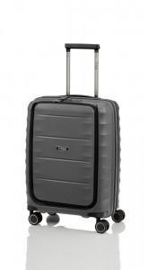 Titan Kabinový cestovní kufr Highlight 4w S Front pocket Anthracite 42 l