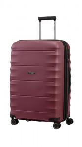 Titan Skořepinový cestovní kufr Highlight 4w M Merlot 73/79 l