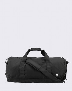 Nixon Pipes 45 l Duffle All Black Nylon