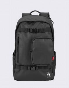 Batoh Nixon Smith Backpack Black Střední (21 – 30 litrů)
