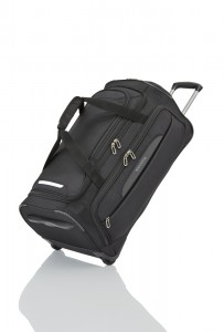 Travelite CrossLITE Wheeled duffle M Black 82 l