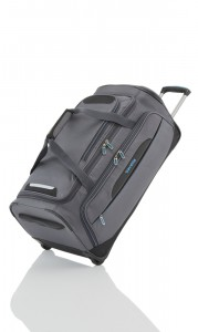 Travelite CrossLITE Wheeled duffle M Anthracite 82 l