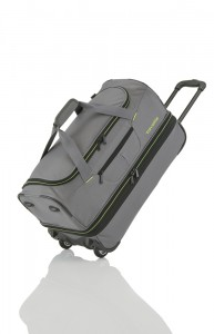 Travelite Basics Wheeled duffle S Grey/green 51/64 l