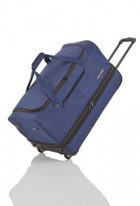 Travelite Basics Wheeled duffle L Navy/orange 98/119 l
