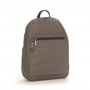 Hedgren Backpack Vogue L RFID Sepia Brown 8,7 l