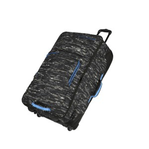 Travelite Basics Doubledecker Black print 100/127 l