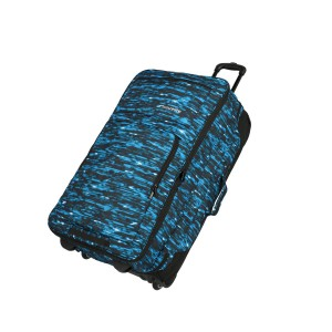 Travelite Basics Doubledecker Blue print 100/127 l