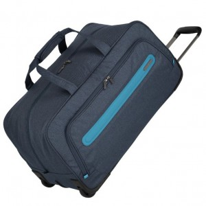 Travelite Madeira Wheeled Duffle Navy/Blue 60 l