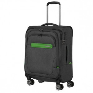 Travelite Madeira 4w S Anthracite/Green 37 l