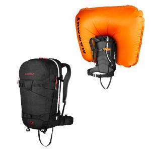 Lavinový batoh Mammut Ride Removable Airbag 3.0 30l Black