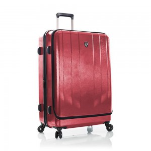 Heys Skořepinový cestovní kufr EZ Access M Red 84 l