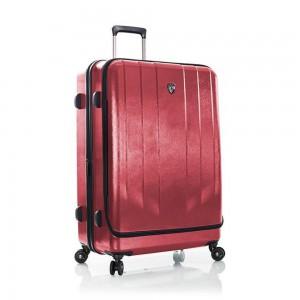 Heys Skořepinový cestovní kufr EZ Access L Red 128 l