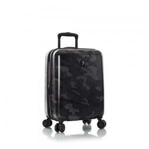 Heys Skořepinový cestovní kufr Black Camo S