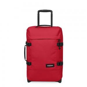 EASTPAK Palubní cestovní taška Tranverz S Stop Red 42 l