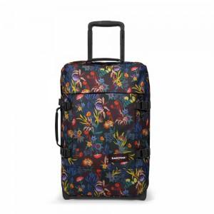 EASTPAK Palubní cestovní taška Tranverz S Trippy Blue 42 l