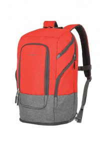"Travelite Batoh na notebook 15,6"" Basics L Red 30 l"