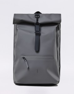 Batoh Rains Roll Top Rucksack 18 Charcoal Malé (do 20 litrů)