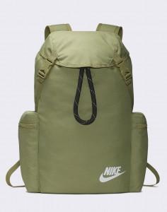 Batoh Nike Heritage Rucksack Dusty Olive/ DK Smoke Grey/ White Střední (21 – 30 litrů)