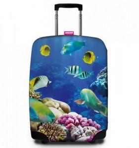 REAbags 9055 univerzální obal na cestovní kufr 60-80 cm Deep Sea