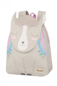 Samsonite Dětský batoh Happy Sammies S+ Alpaca Aubrie 11 l – šedá