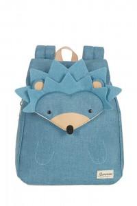 Samsonite Dětský batoh Happy Sammies S+ Hedgehog Harris 11 l – modrá