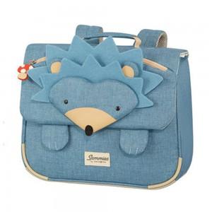 Samsonite Školní taška Happy Sammies Hedgehog Harris 8 l – modrá