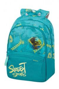Samsonite Školní batoh Color Funtime L 24 l – tyrkysová